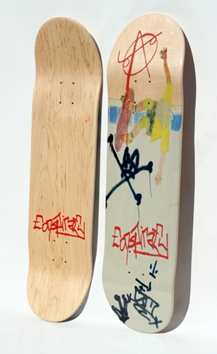 Big Boys Tribute Skateboard Deck