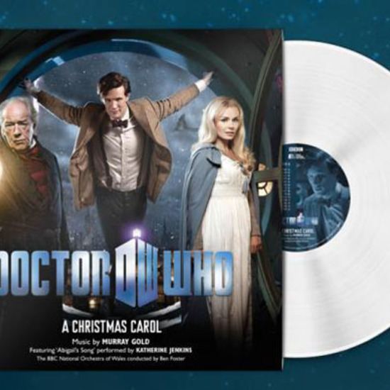 Dr Who A Christmas Carol.Doctor Who A Christmas Carol Light In The Attic Records