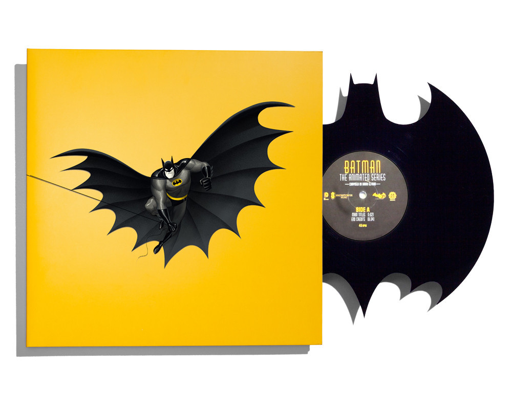 Batman The Animated Series Die Cut 12 Inch Single Light