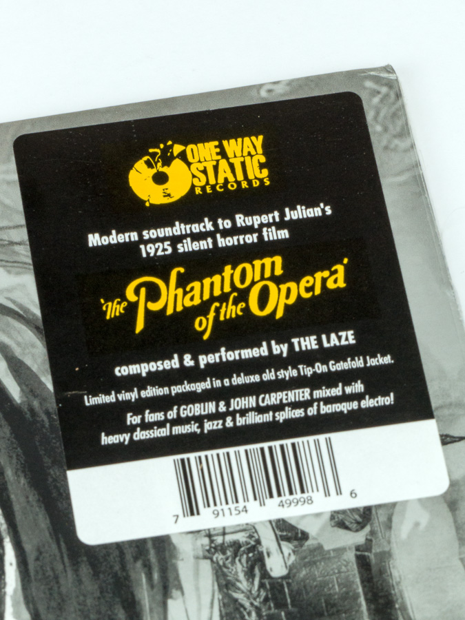 The Phantom Of The Opera (1925 Motion Picture Soundtrack)