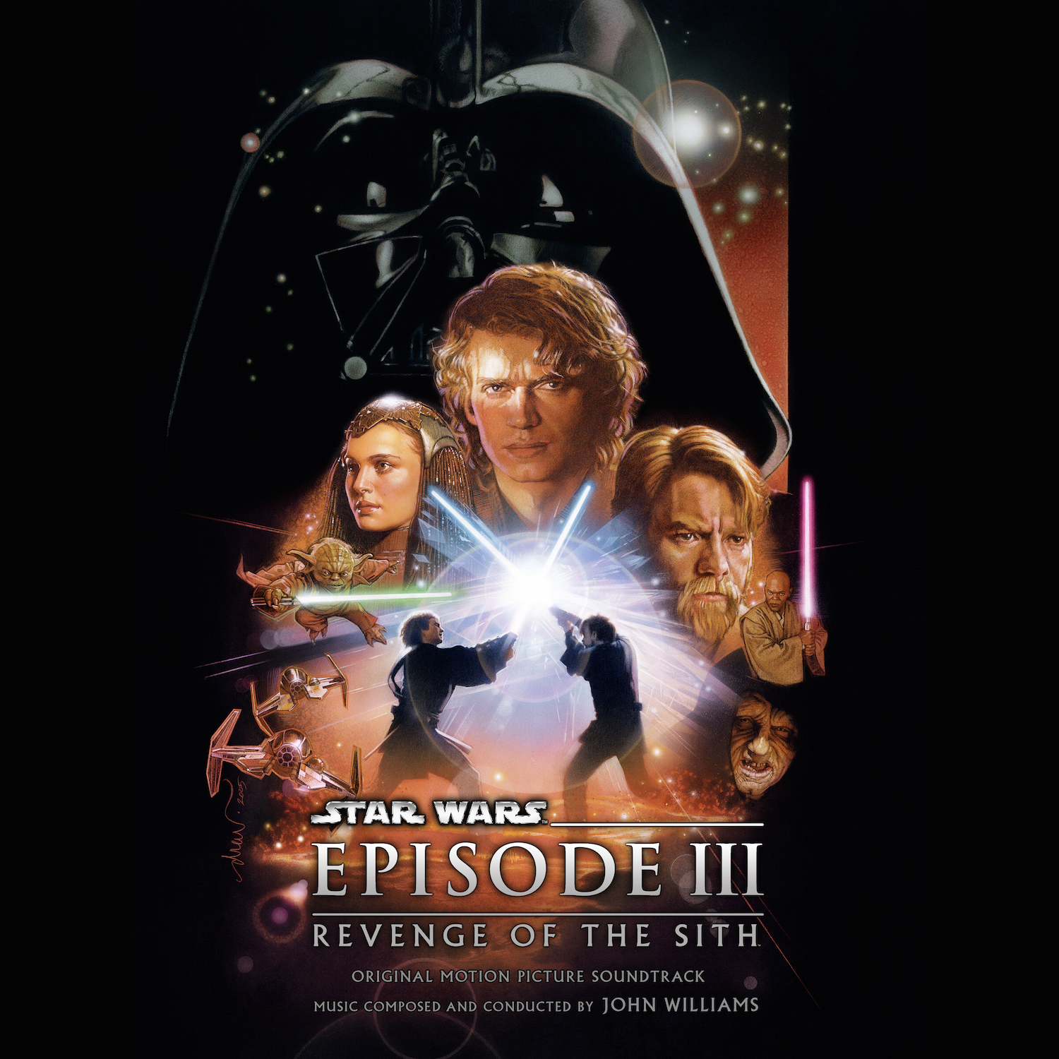 Star wars episode iii revenge of the sith dvd cover dvd covers.
