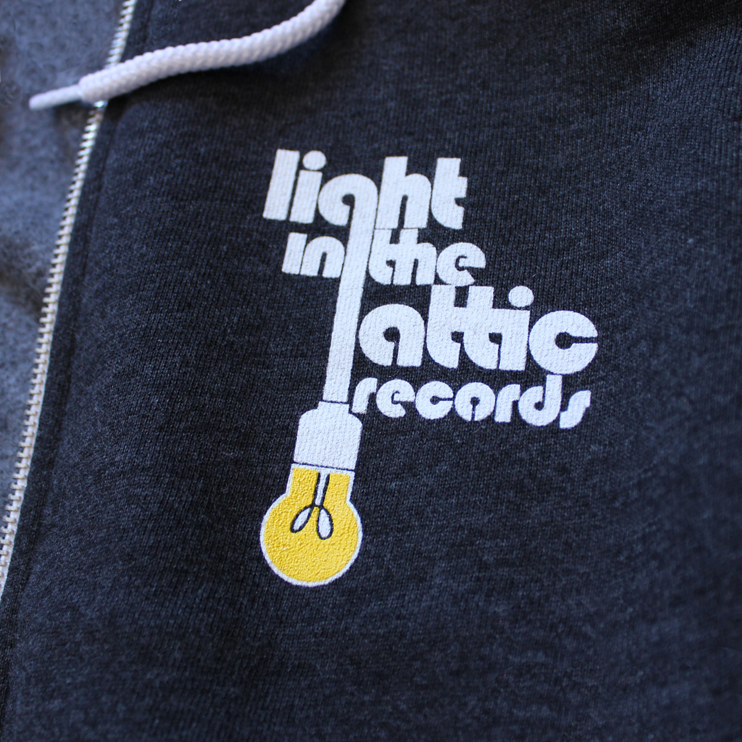 Light In The Attic Zip Hoodie