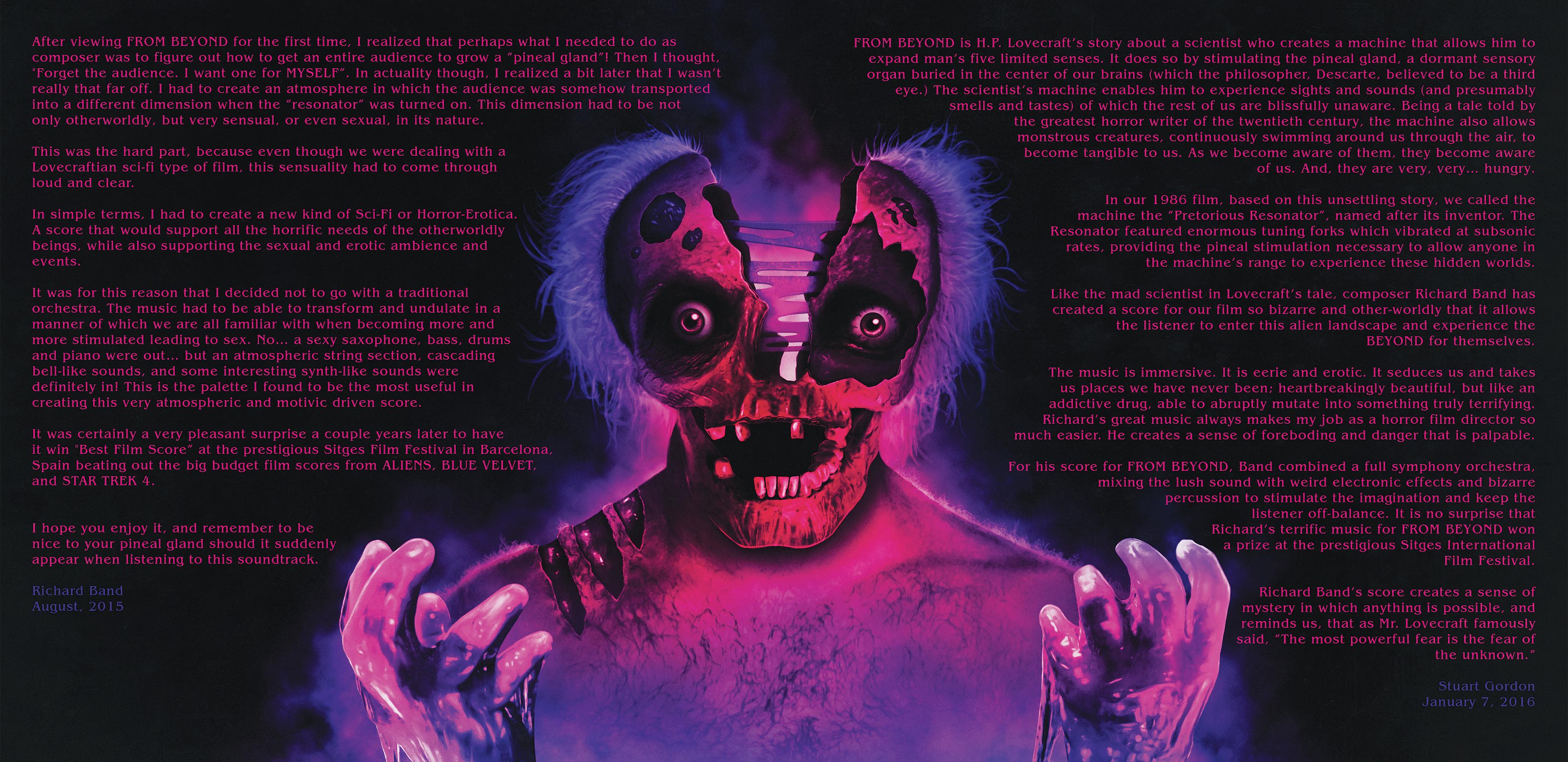 From Beyond (1986 Original Soundtrack)