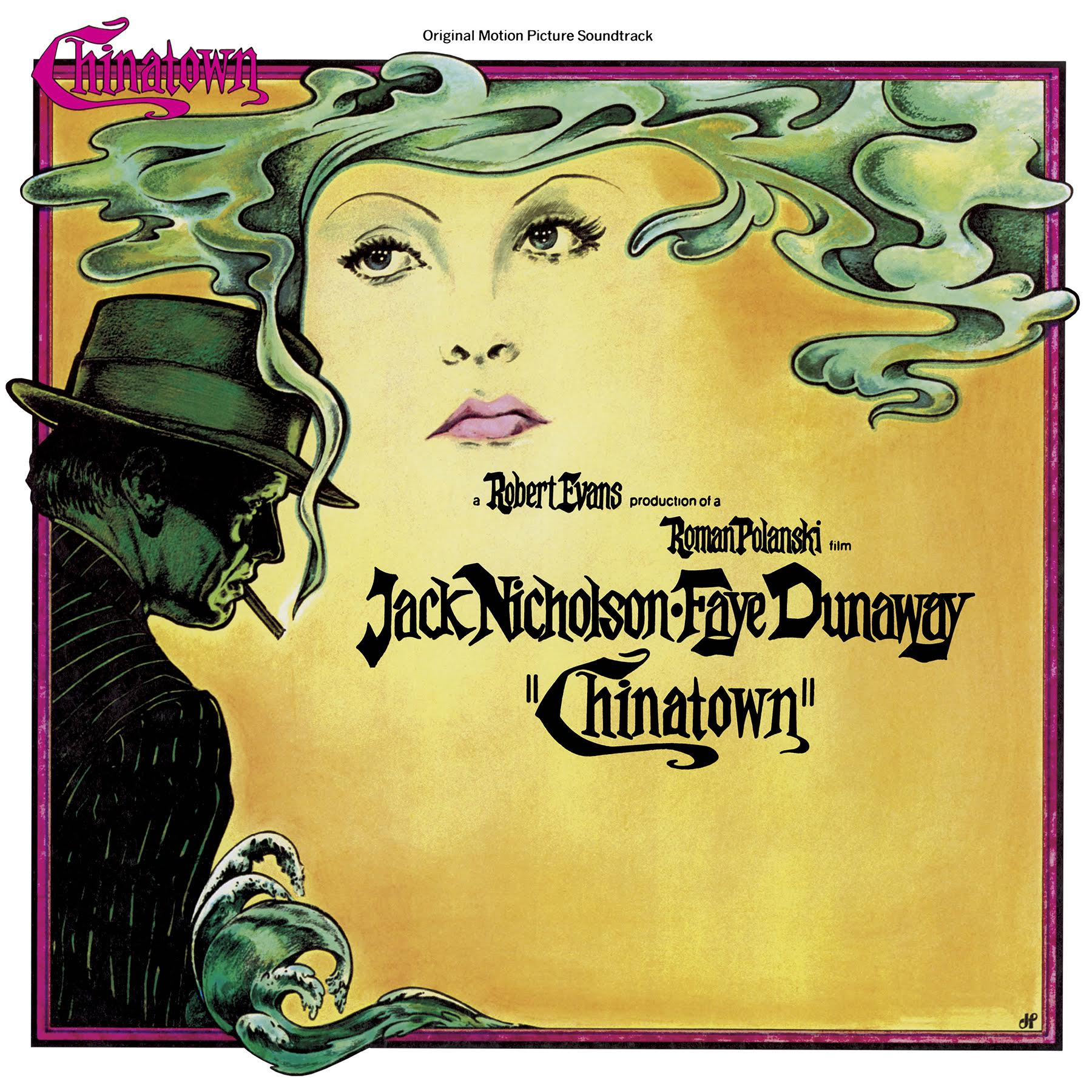 Image result for chinatown vinyl artwork robert evans