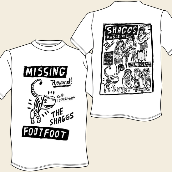 "Seth Bogart ""Foot Foot"" / ""Teen Mag"" T-Shirt"