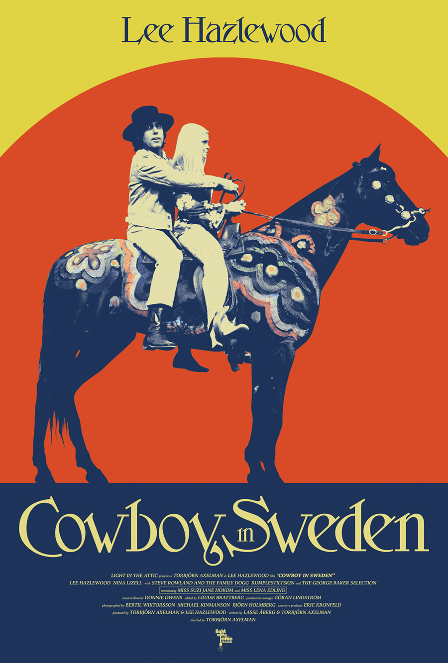 Cowboy In Sweden Poster Light In The Attic Records