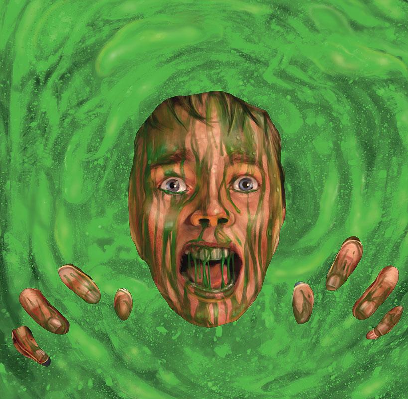 NILBOG Troll 2 II cult horror Goblin 1990 90/'s vinyl decal sticker car laptop