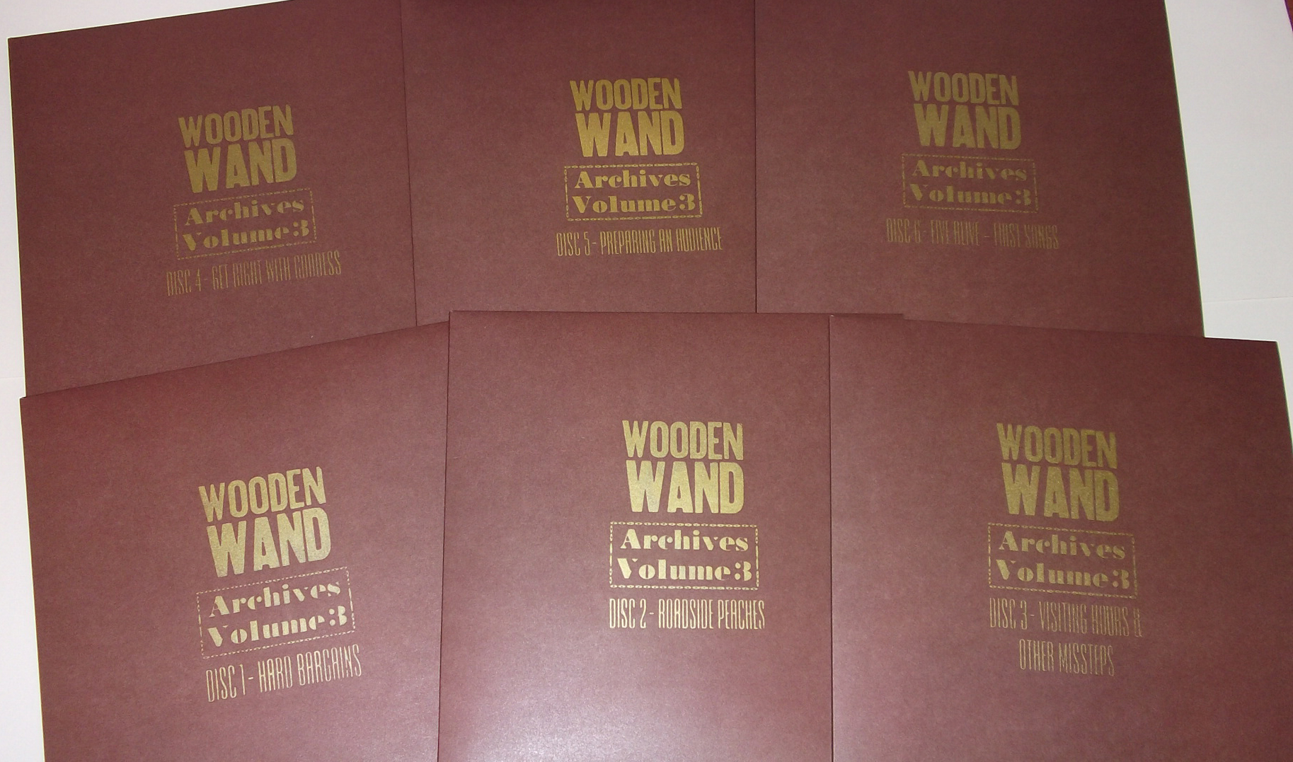 Wooden Wand - Archives Vol. 3 - Individual LP's