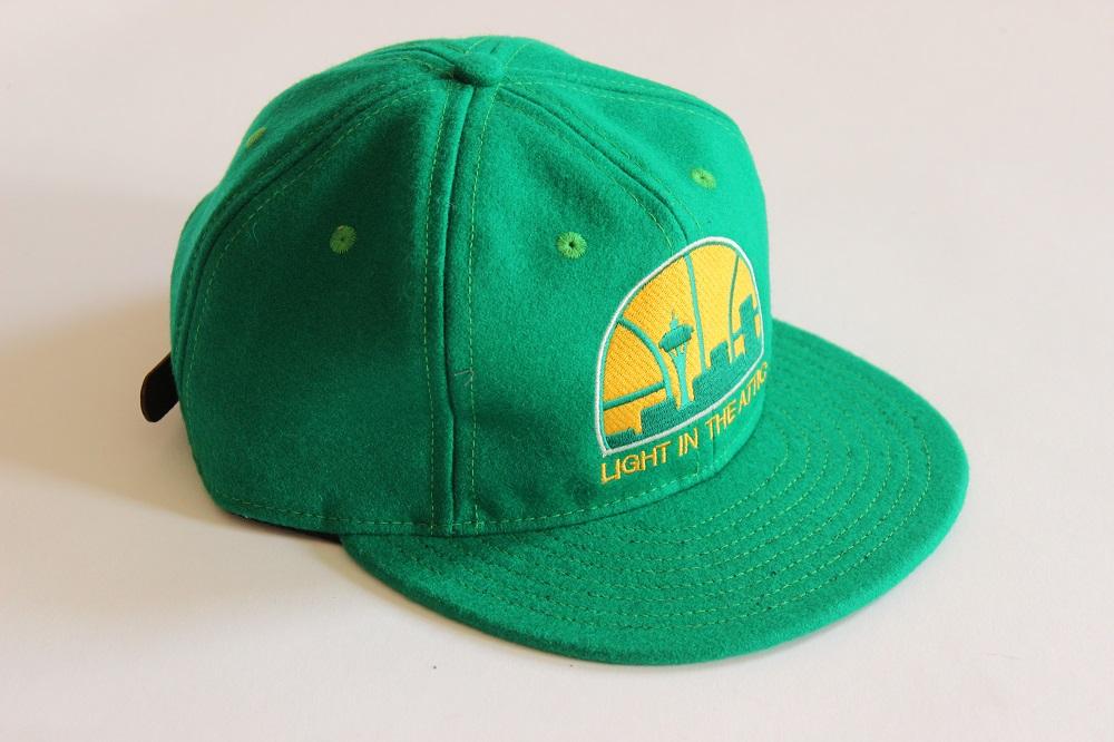 Ebbets Sonics Logo Flip Ballcap