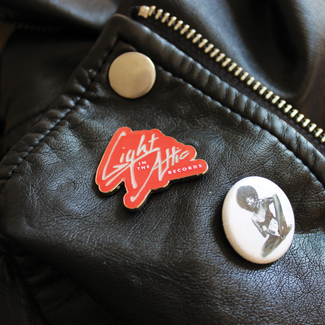 Light In The Attic Virgin Logo Enamel Pin