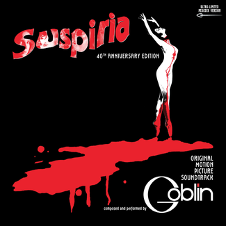 Suspiria - 40th Anniversary Box Set (Deluxe Edition)