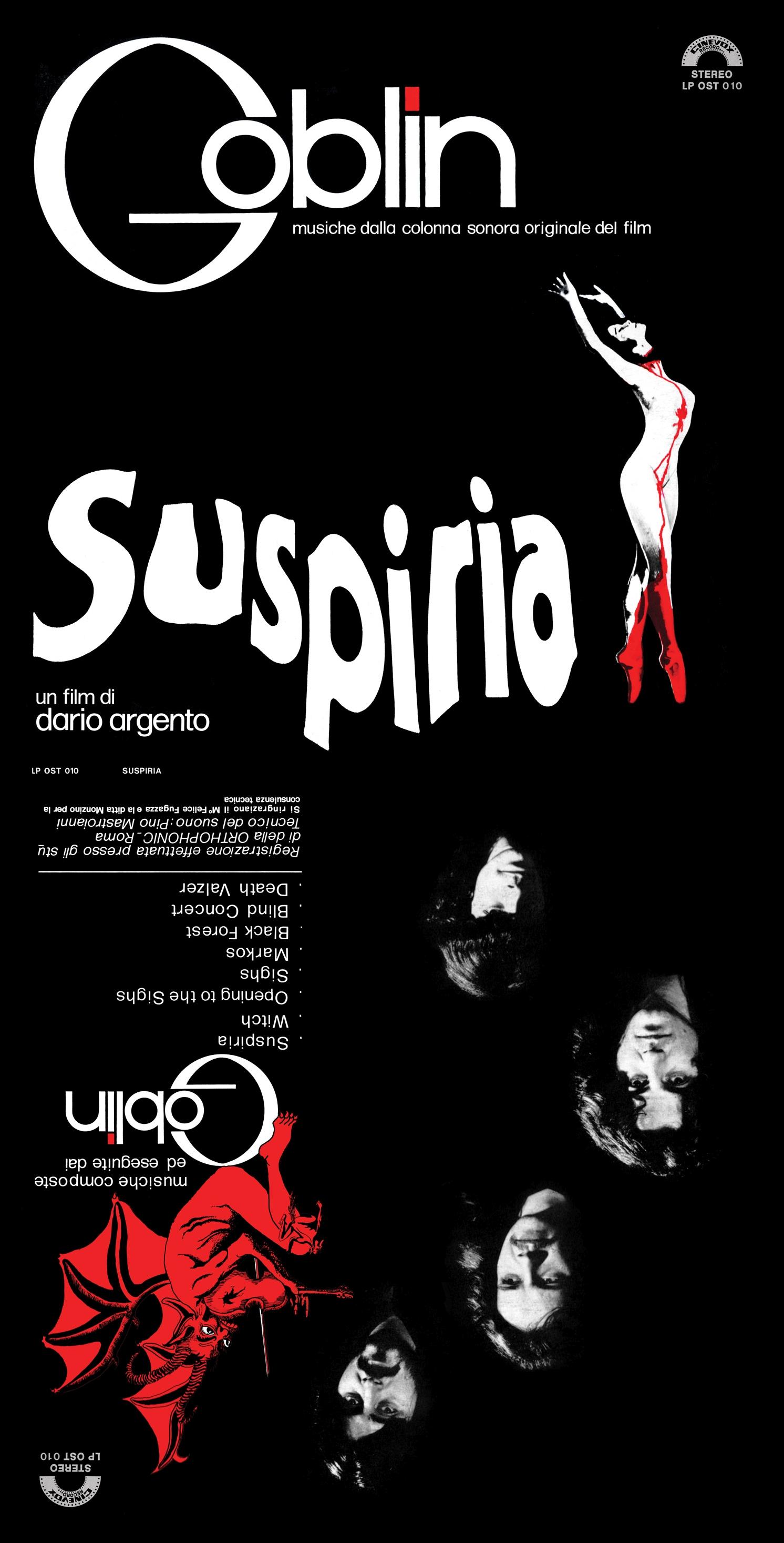 Suspiria - 40th Anniversary Box Set (Deluxe Edition)