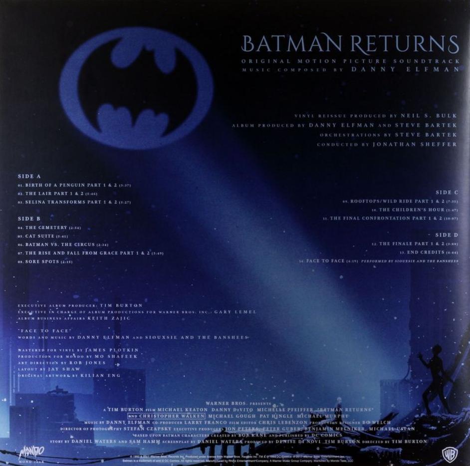 Batman Returns (Original Motion Picture Score)