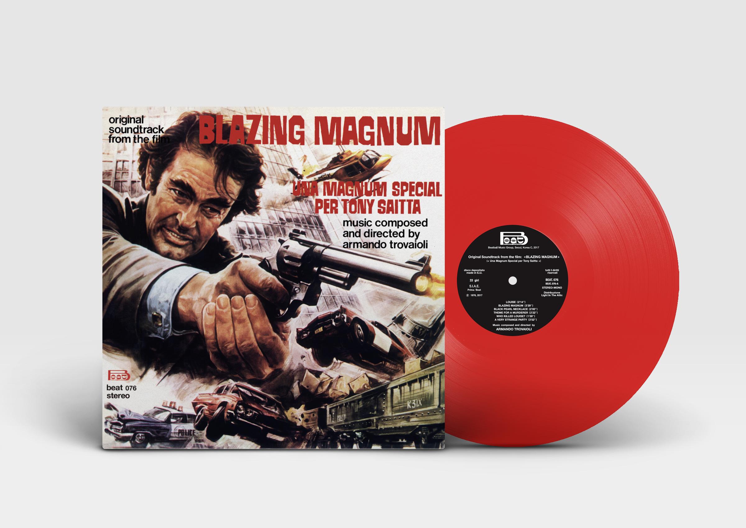 Blazing Magnum: Strange Shadows In An Empty Room (Original Soundtrack)