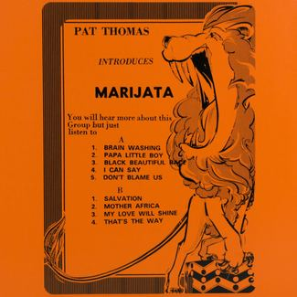 Pat Thomas Introduces Marijata (UNOFFICIAL 2018 RSD RELEASE)