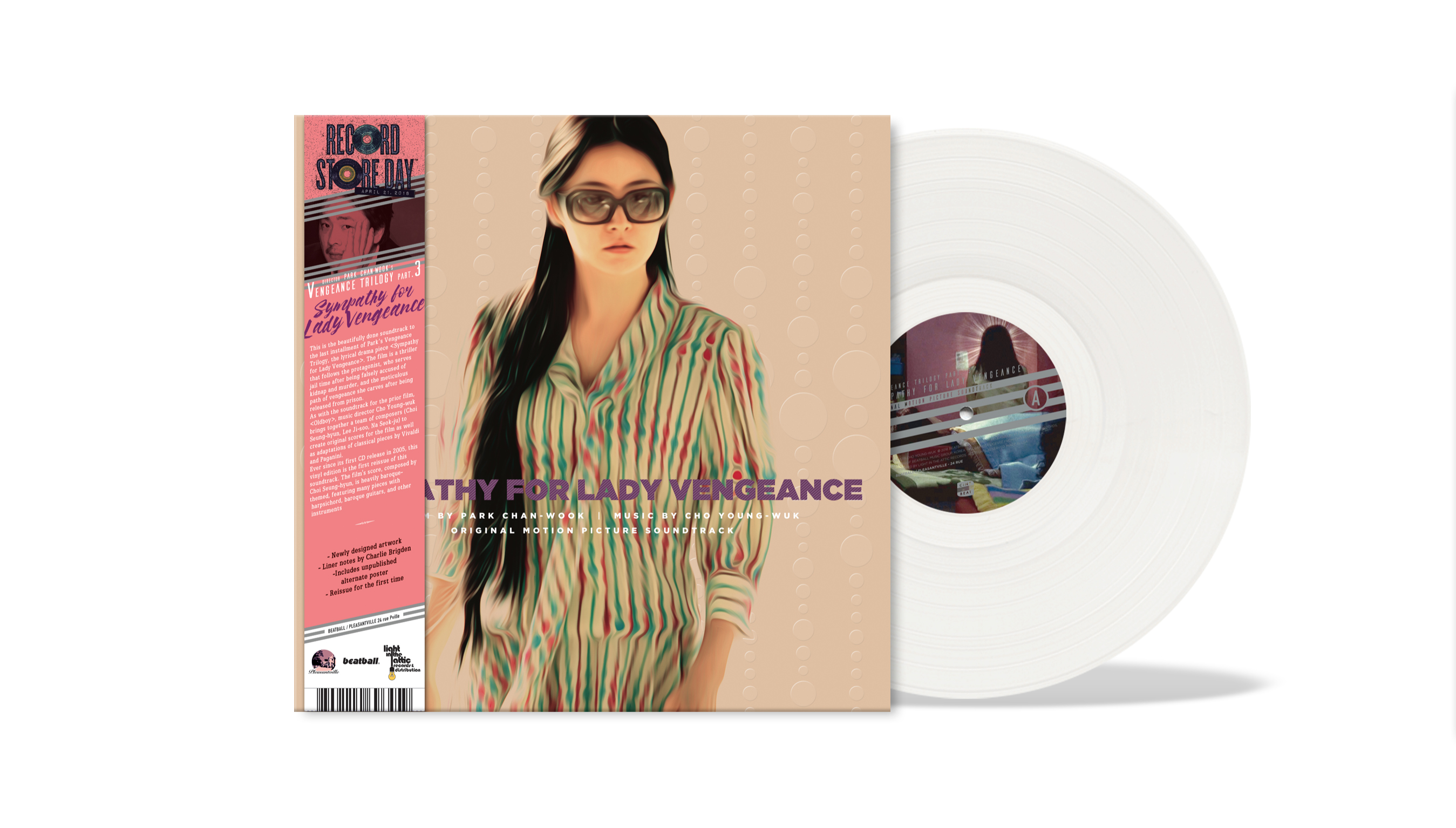 Sympathy For Lady Vengeance - Original Motion Picture Soundtrack: (Vengeance Trilogy Part. 3) (RSD 2018 EXCLUSIVE)
