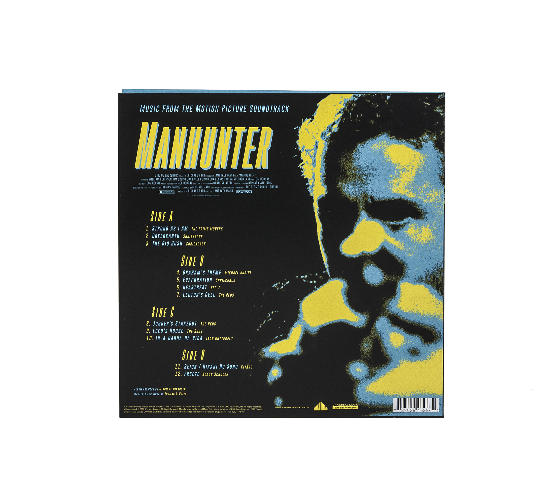 Manhunter (Original Motion Picture Music)