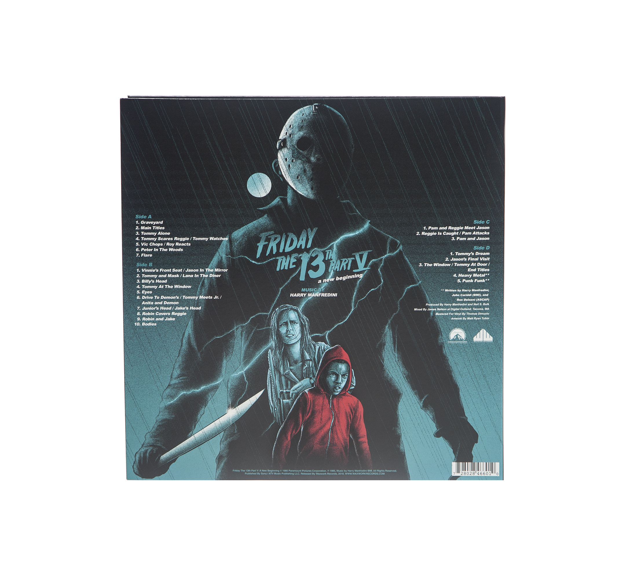 Friday The 13th Part V A New Beginning (Original Soundtrack)