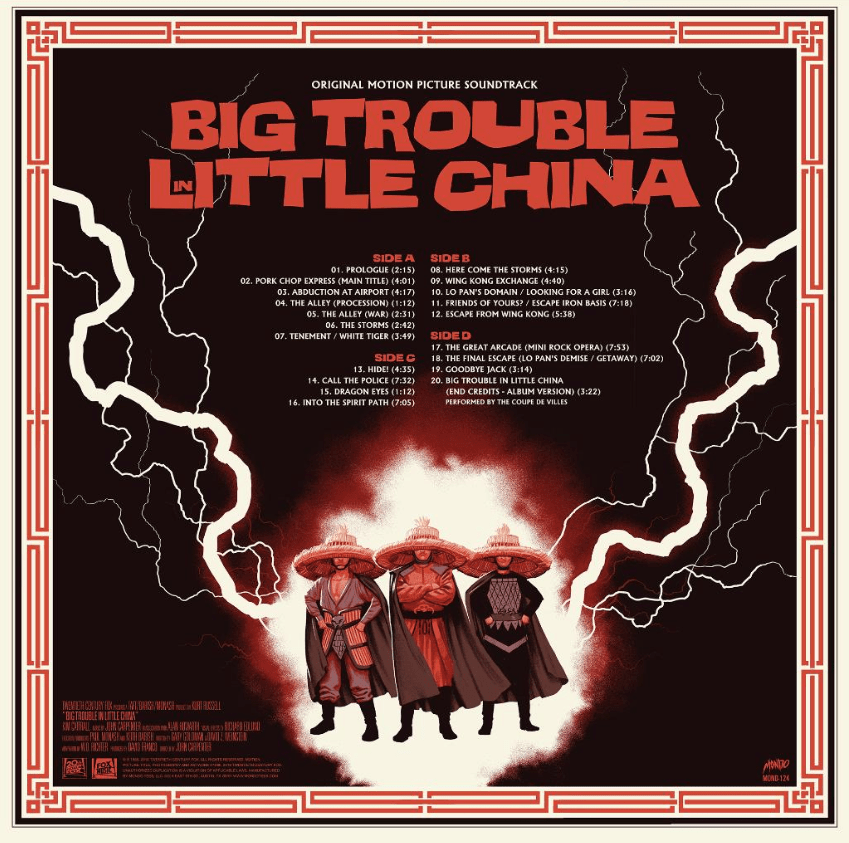 Big Trouble In Little China - Original Motion Picture Soundtrack