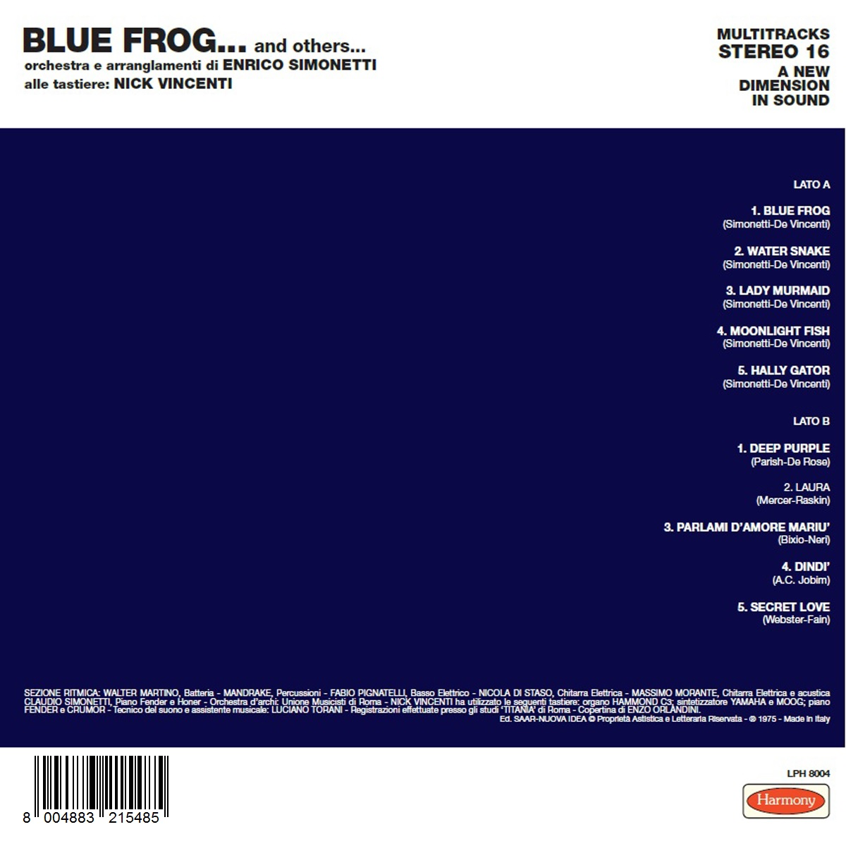 Blue Frog…and Others