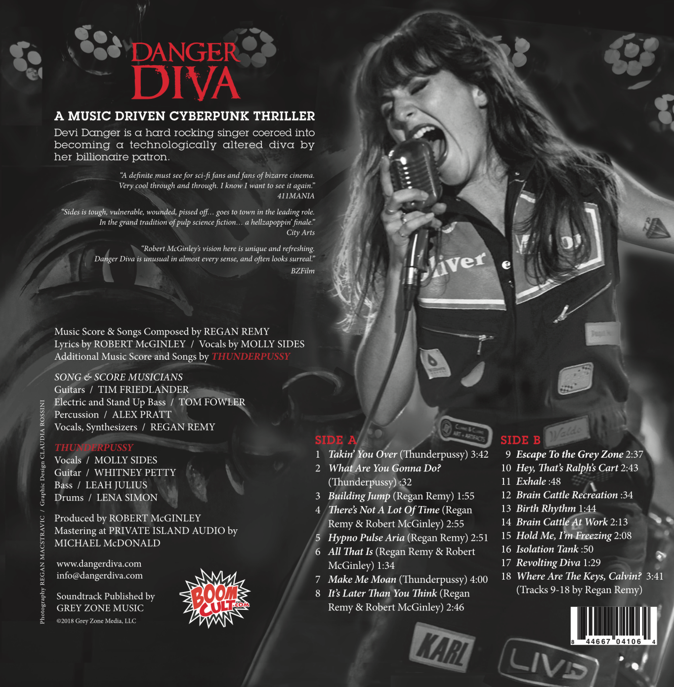 Danger Diva (Original Motion Picture Soundtrack plus DVD movie)