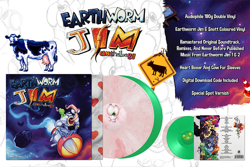 Earthworm Jim Anthology (Official Soundtrack)