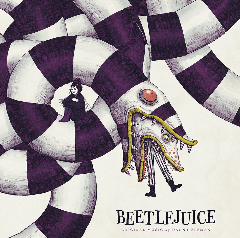 Beetlejuice Original Motion Picture Soundtrack Light In The Attic Records