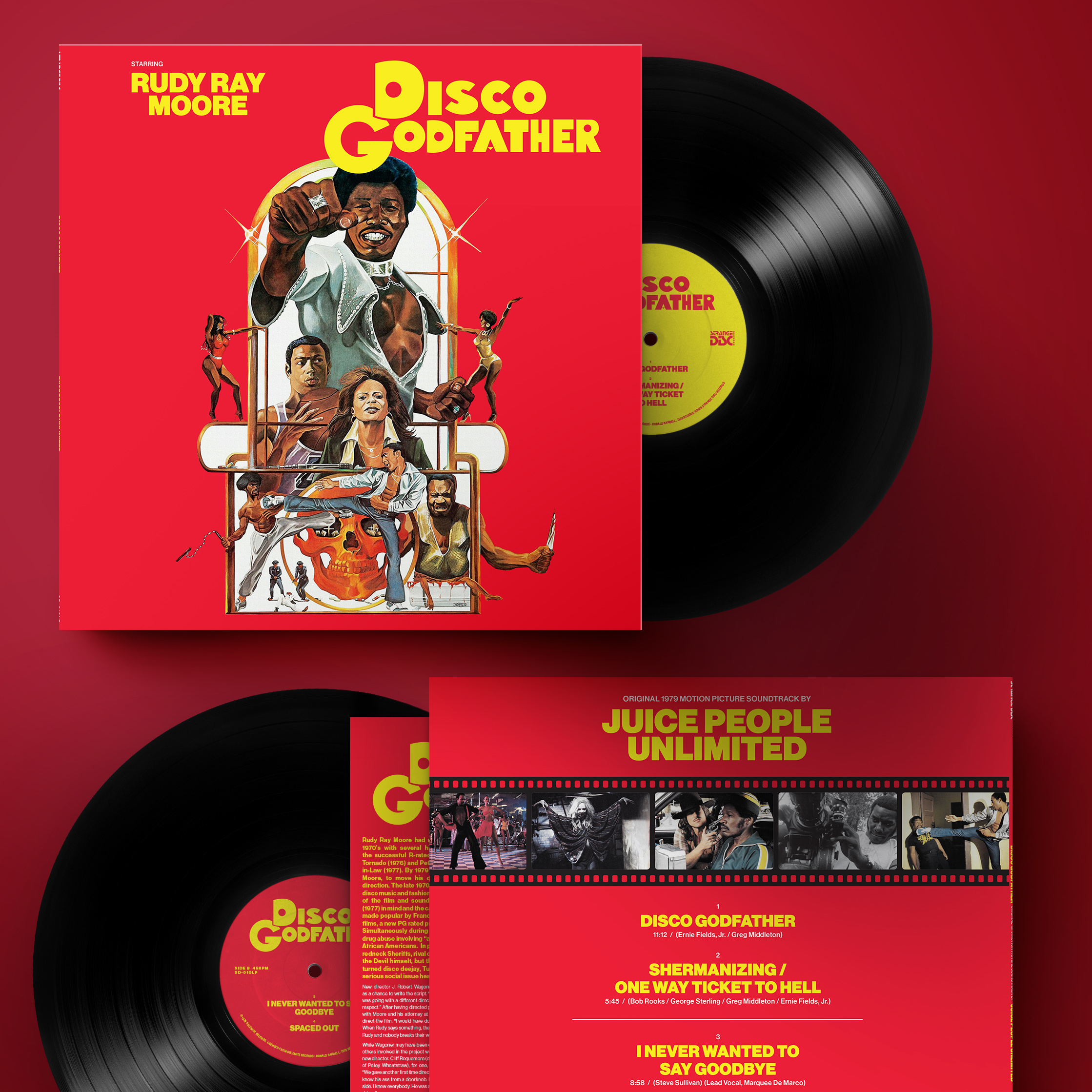Disco Godfather (Original 1979 Motion Picture Soundtrack) (UK/EU RSD Exclusive)