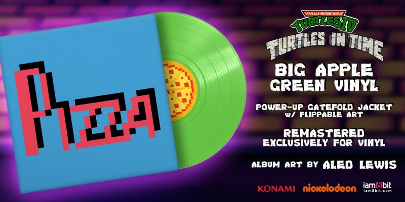 Teenage Mutant Ninja Turtles: Turtles in Time (Vinyl Soundtrack)