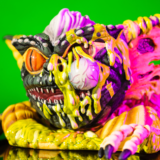 Melting Stripe Mondoid Vinyl Figure