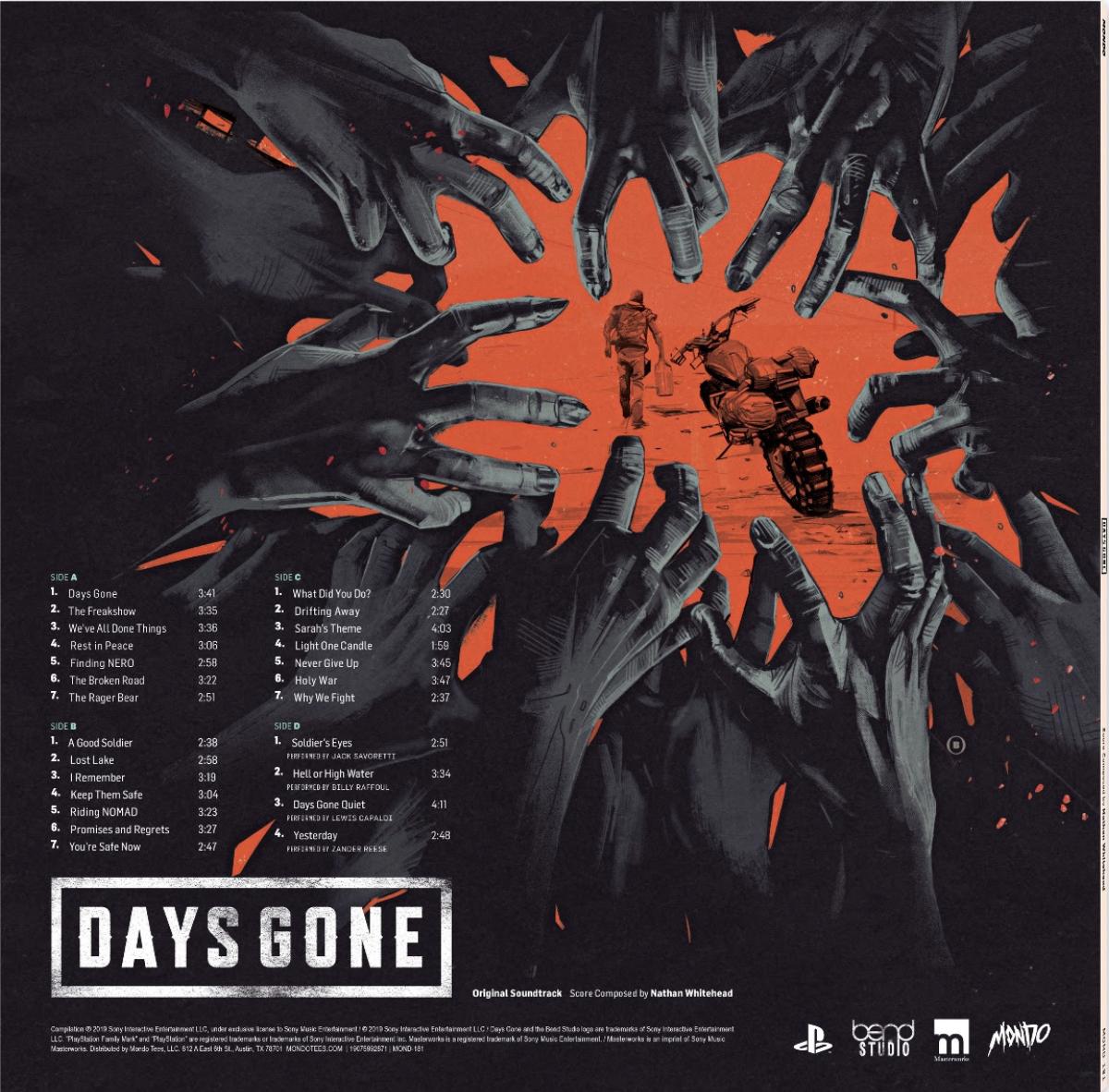 DAYS GONE (Original Video Game Soundtrack)