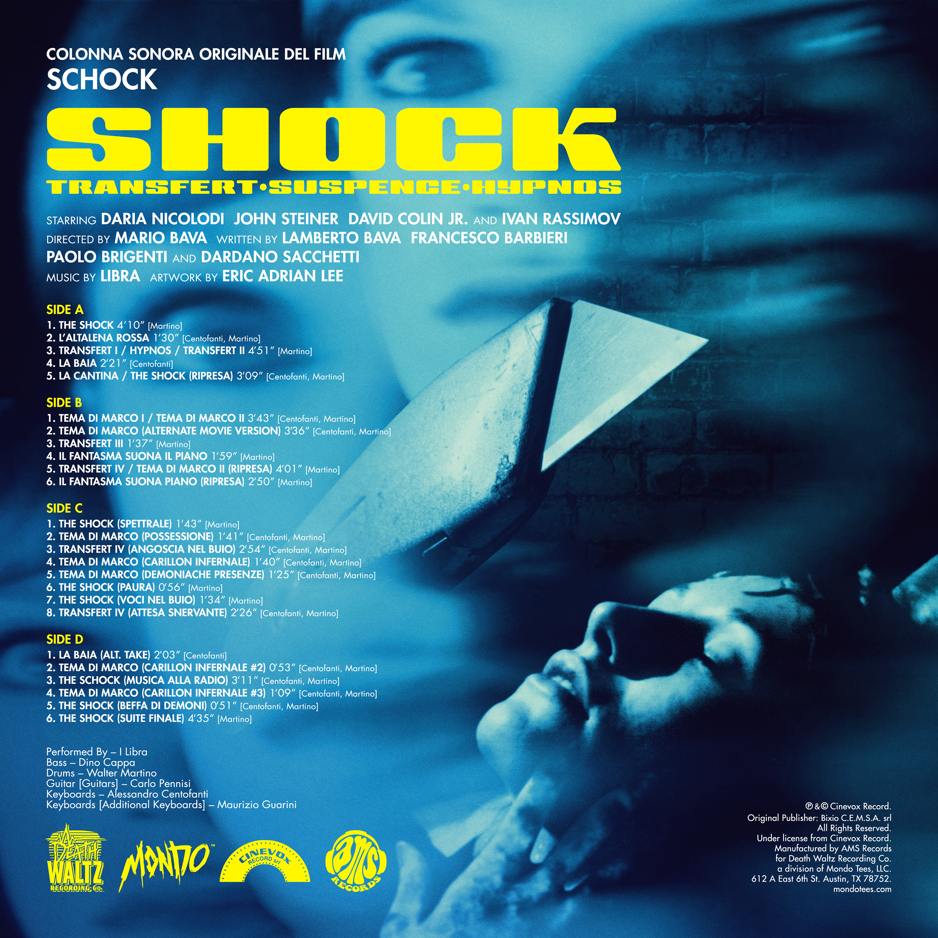 SHOCK (Original Motion Picture Soundtrack)