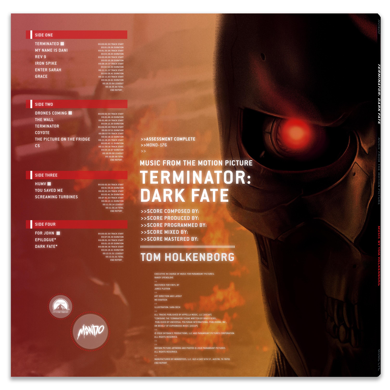 TERMINATOR: DARK FATE (Original Motion Picture Soundtrack)