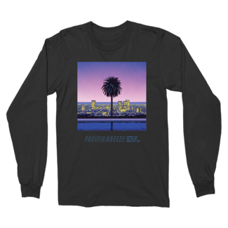 Pacific Breeze 2 Longsleeve Black T-Shirt