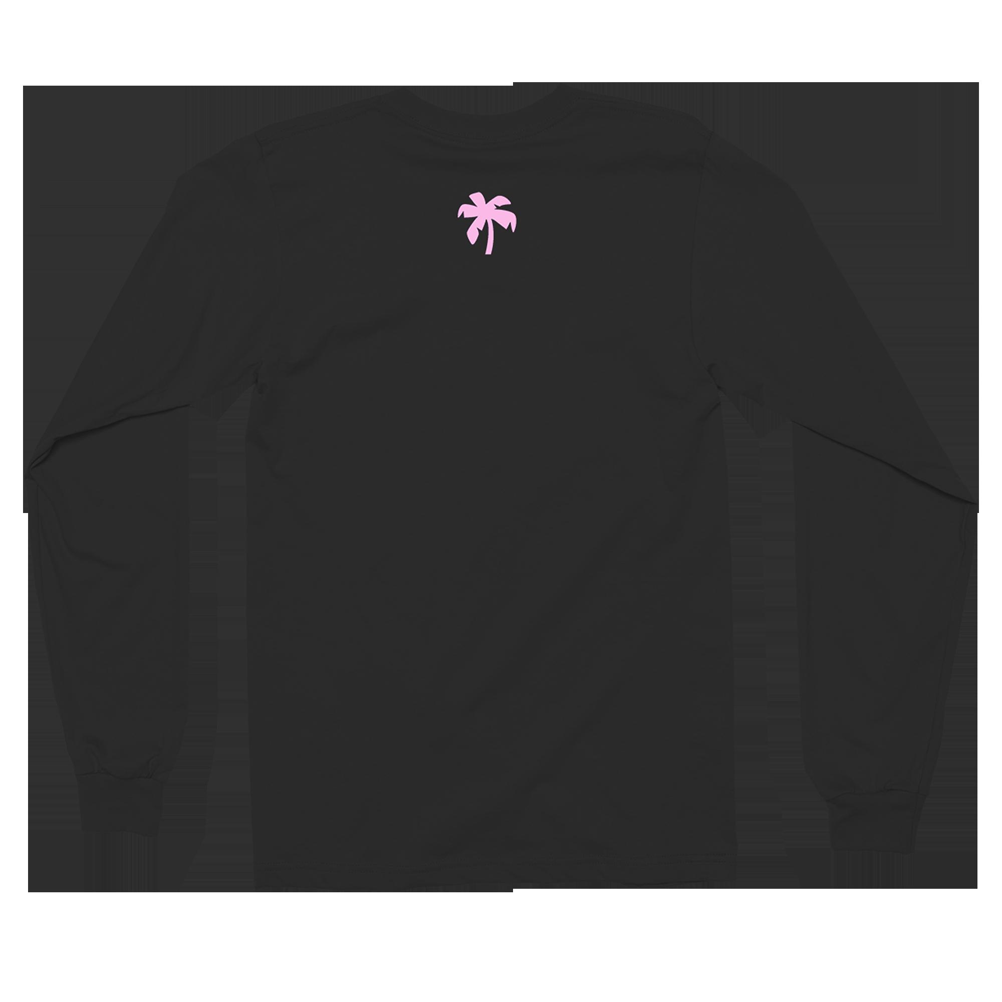 Pacific Breeze 2 Longsleeve Black T-Shirt