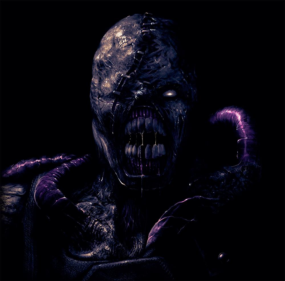 resident evil 3 nemesis art