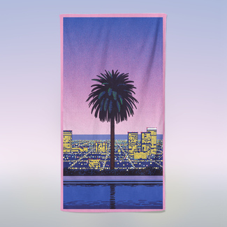 Pacific Breeze 2 Beach Towel