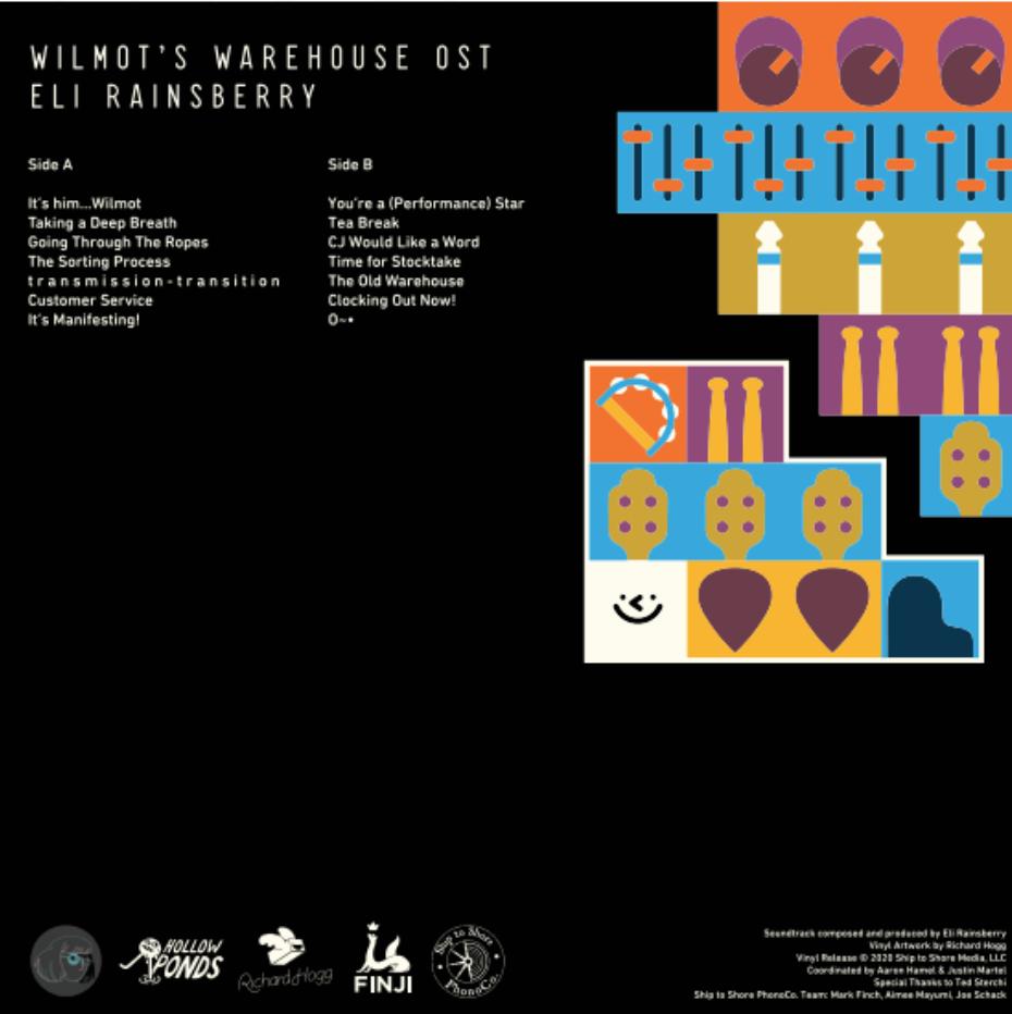 Wilmot's Warehouse: Original Video Game Soundtrack