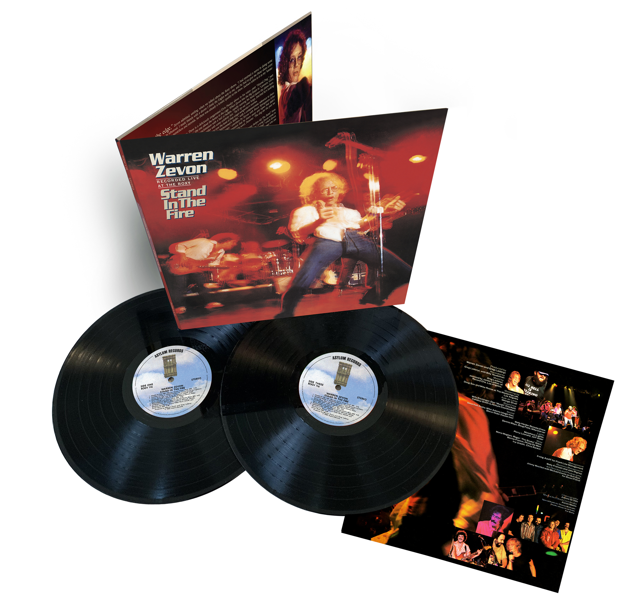 Stand In The Fire: Recorded Live At The Roxy (Deluxe Edition)