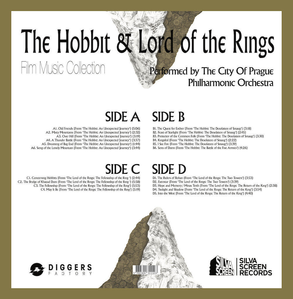 The Hobbit & The Lord of the Rings Music Collection