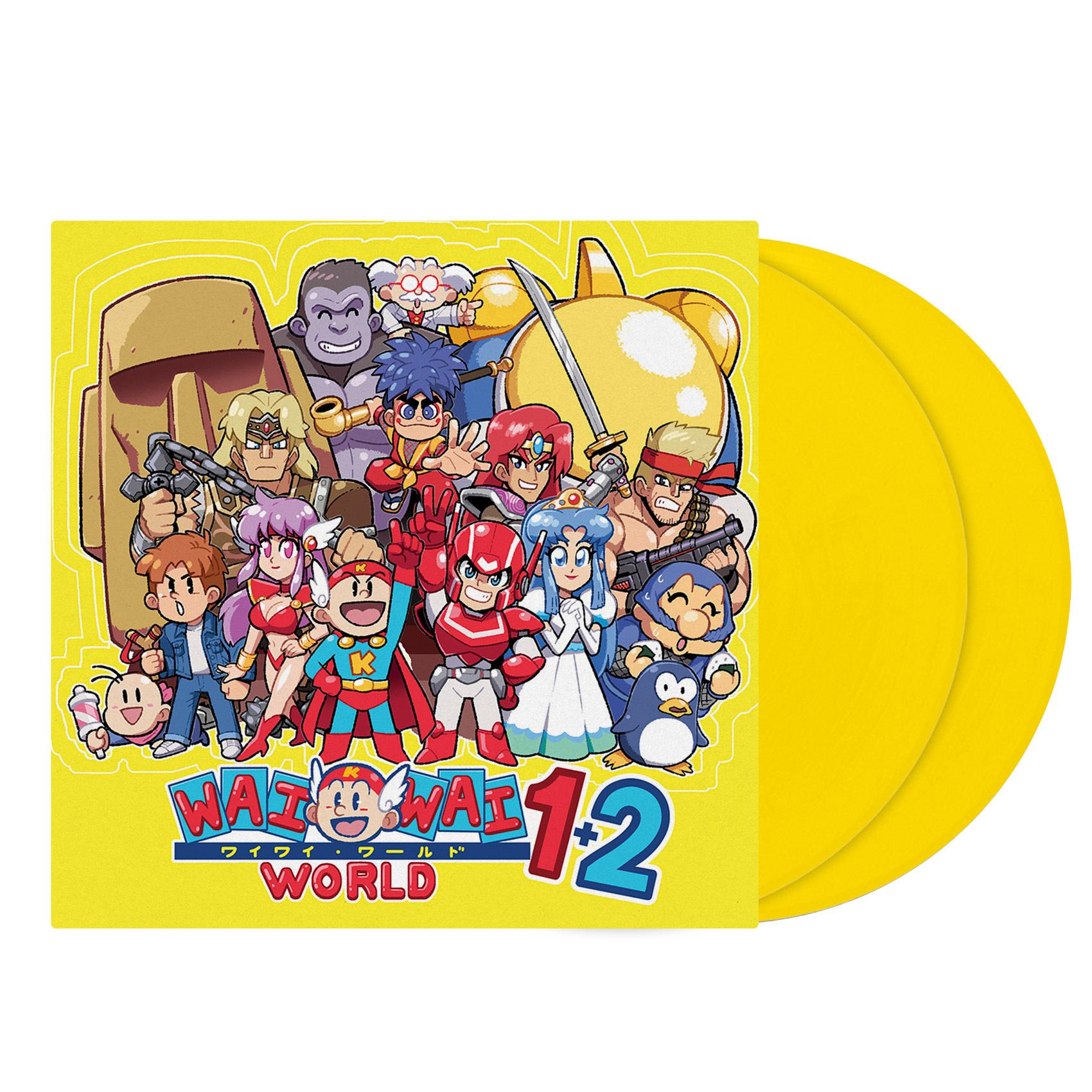 Konami Wai Wai World 1+2 - Original Video Game Soundtrack