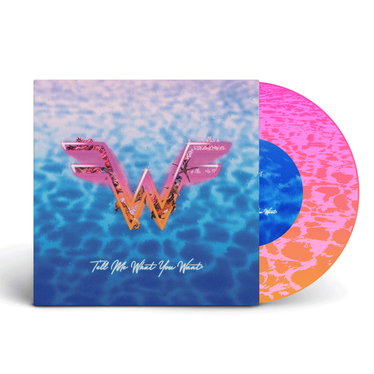 """Weezer x Wave Break 7"""" (feat. """"Tell Me What You Want"""")"""