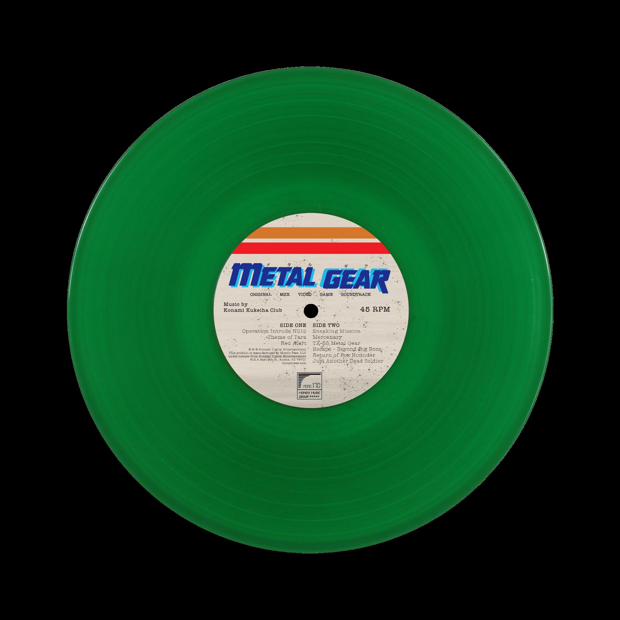 Metal Gear Original MSX2 Video Game Soundtrack