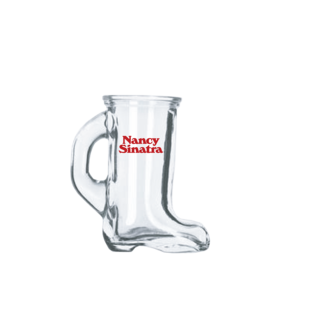 Nancy Sinatra Boots Shot Glass