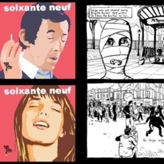 Serge Gainsbourg/Jane Birkin Comic