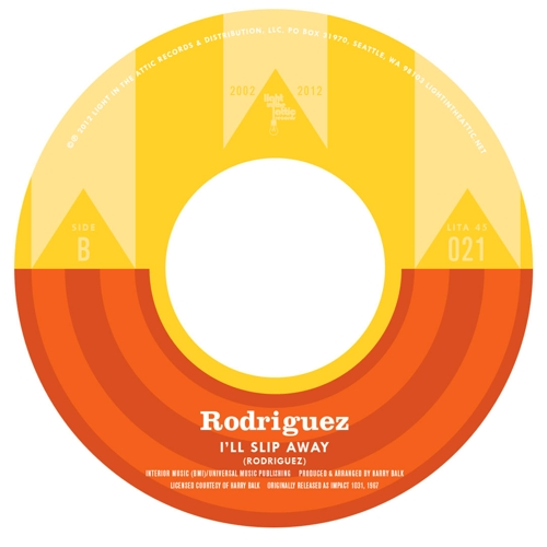 "Light In The Attic 10 Year Anniversary: Rodriguez ""I'll Slip Away"""