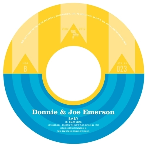 "Light In The Attic 10 Year Anniversary: Donnie & Joe Emerson ""Baby"""