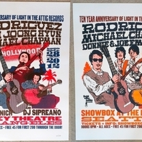 Light In The Attic 10 Year Anniversary: Hand-Numbered Show Posters