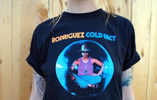 "Rodriguez 2012 Tour Shirts - ""Cold Fact"" Tee"